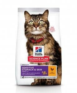 Science Plan Sensitive Stomach & Skin Adult Cat Food With Chicken