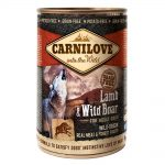 Carnilove Lamb & Wild Boar Wet Food For Adult Dogs