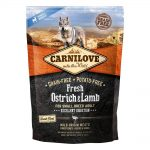 Carnilove Fresh Ostrich & Lamb For Small Breed Adult Dogs