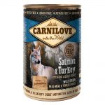 Carnilove Salmon & Turkey Wet Food For Adult Dogs
