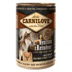 Carnilove Venison & Reindeer Wet Food For Adult Dogs