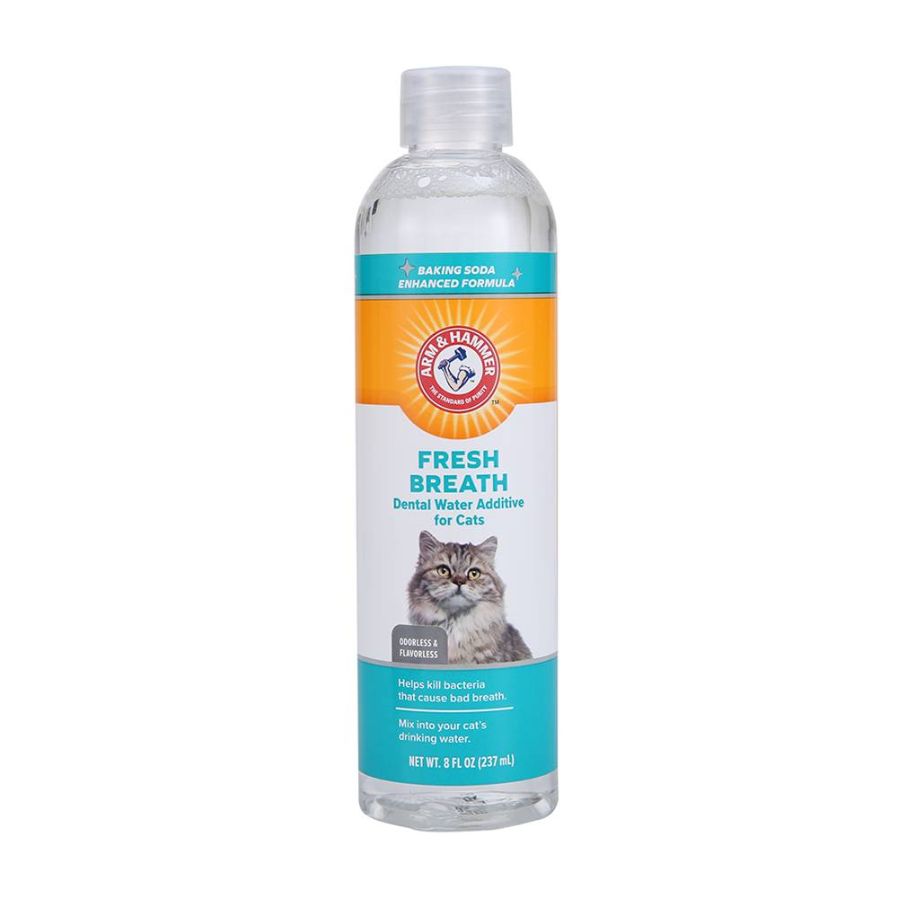 Arm & Hammer Fresh Breath Dental Water Additive For Cats